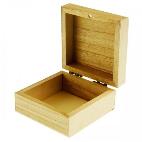 Icon Craft 80x80mm Wooden Box - Square