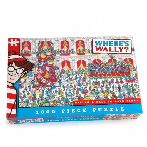 Whers's Wally Ball Room 1000pcs Jigsaw