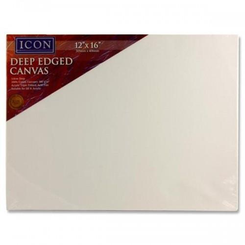 "ICON 12""x16"" Deep Edged Canvas"