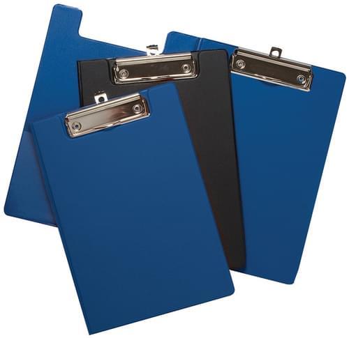 A5 Foldover PVC Clipboard Asstd