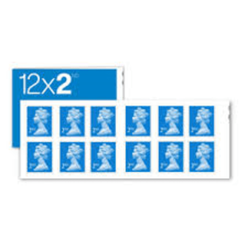 ROYAL MAIL UK SECOND CLASS POSTAGE STAMP 12