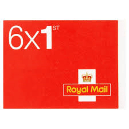 ROYAL MAIL UK POSTAGE STAMP FIRST CLASS 6