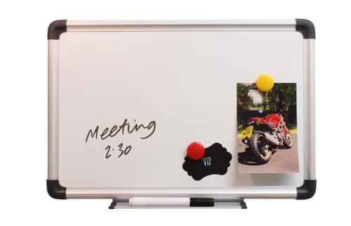 CATHEDRAL MAGNETIC DRYWIPE BOARD 450MM X 300MM