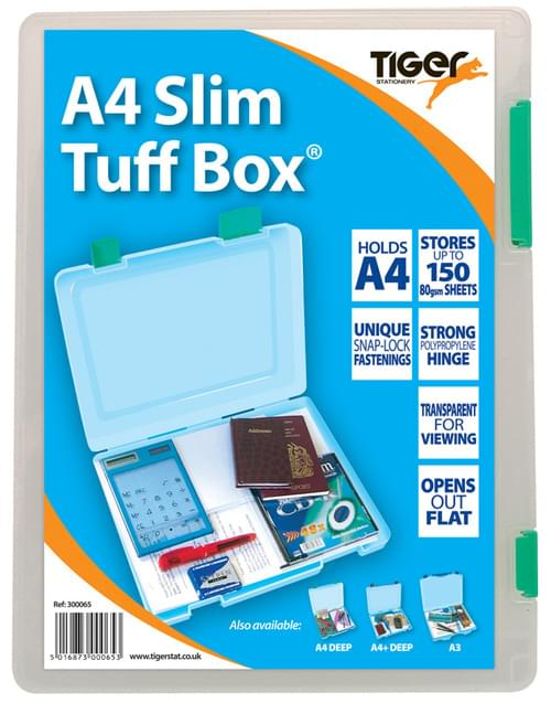 A4 Slim Tuff Box Asstd