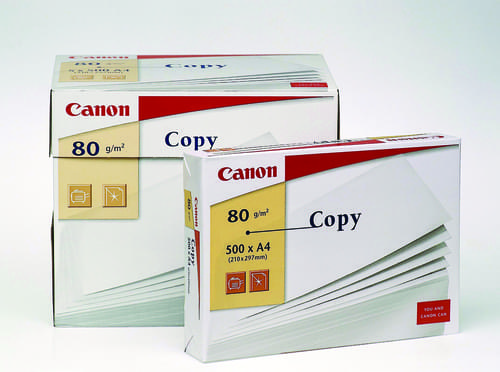 Canon Copy A4 80gsm White Paper Box 5 Reams  PK2500