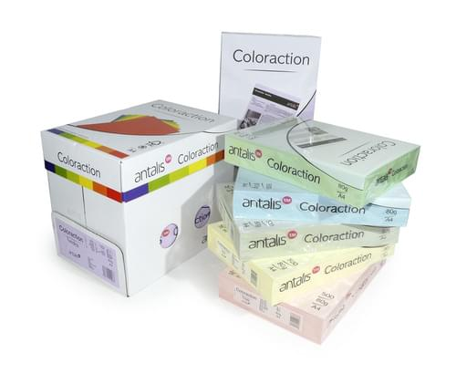 Coloraction Canary Dark Yellow Card A4 160gsm PK250