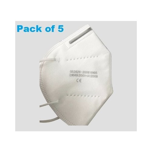 KN95/FFP2 Disposable Medical Mask PK5