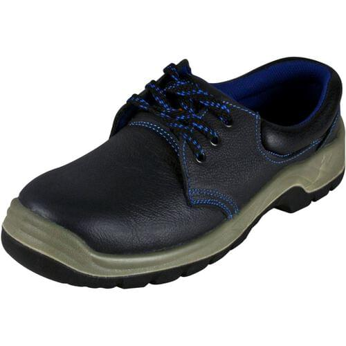 Basic safety shoe with midsole, Black, Size 03