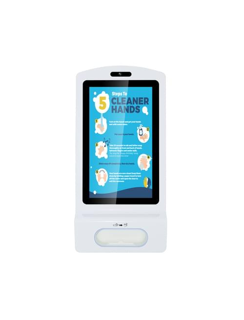 Hand Sanitiser Signage Display Dispenser