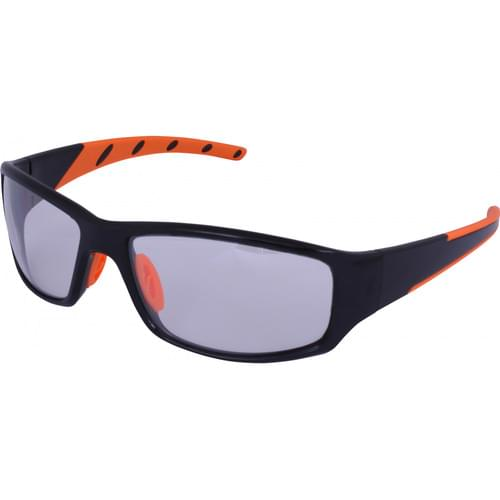 Safety glasses with clear lens