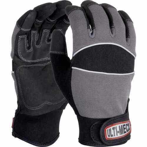 Mechanics glove Five fingers enclosed, Size 7