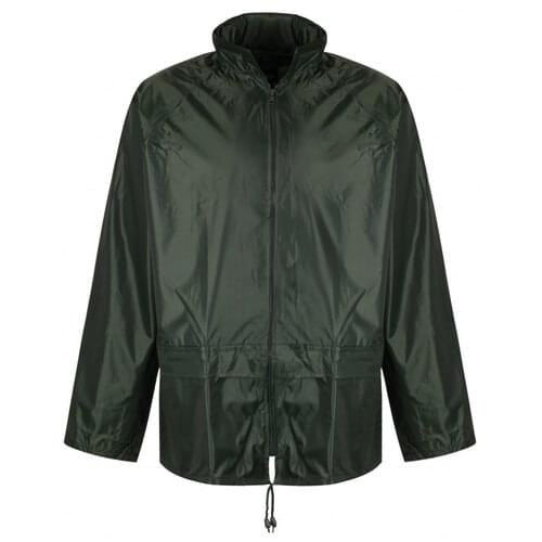 Rainsuit jacket, Yellow, Size 3XL
