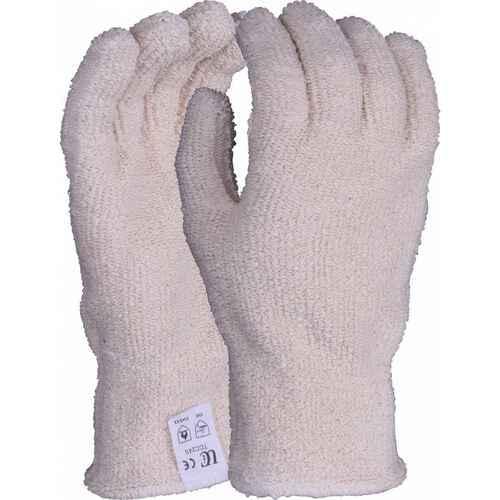 20oz seamless heat resistant terry glove with knit wrist, Size L-XL