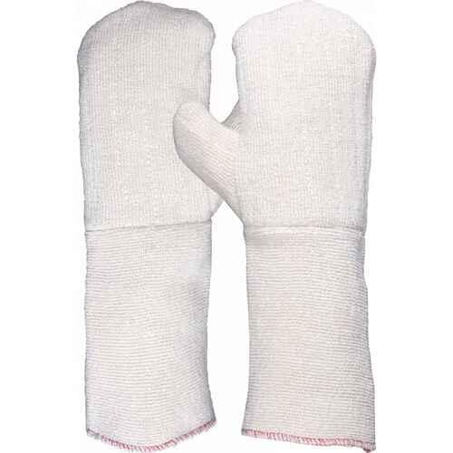 Heat resistant double thickness terry mitten, Size L-XL