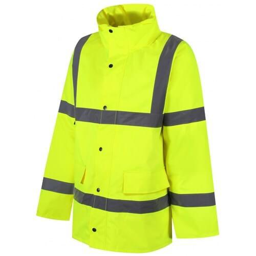 Class 3 parka Jacket, Yellow, Size S