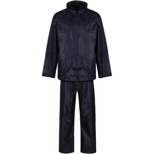 Rainsuit jacket and trousers set, Yellow, Size L