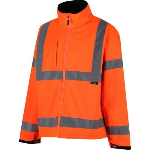Class 3 softshell Jacket, Yellow, Size S