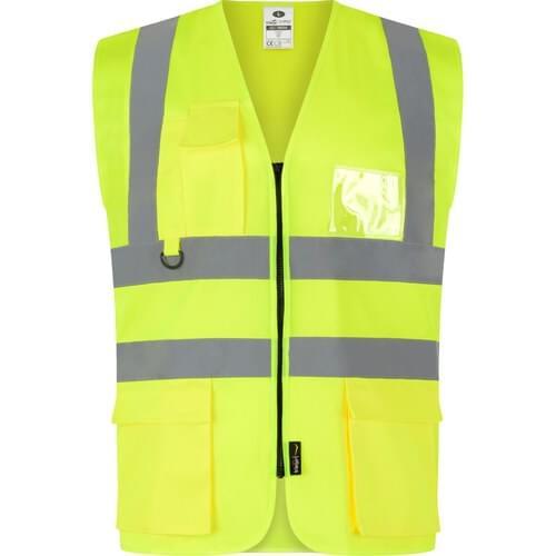 Executive waistcoat, Yellow, Size   S
