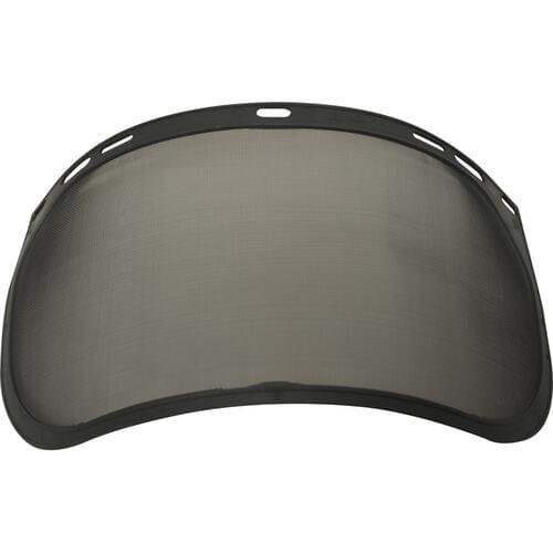 Fine mesh steel visor