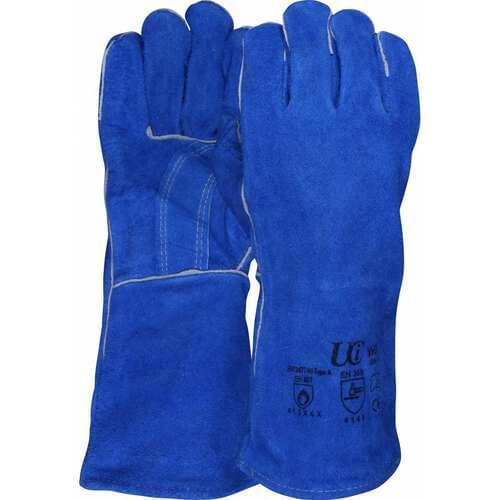 Premium Blue welders gauntlet, Size XL