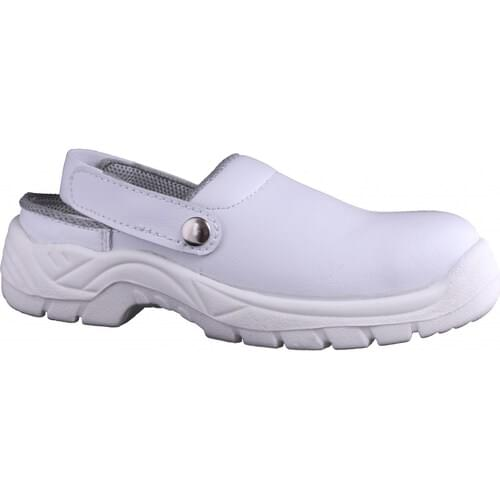 White safety clog, Size 105