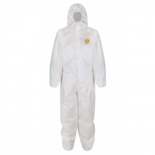BASE limited use coverall, White, Size XL