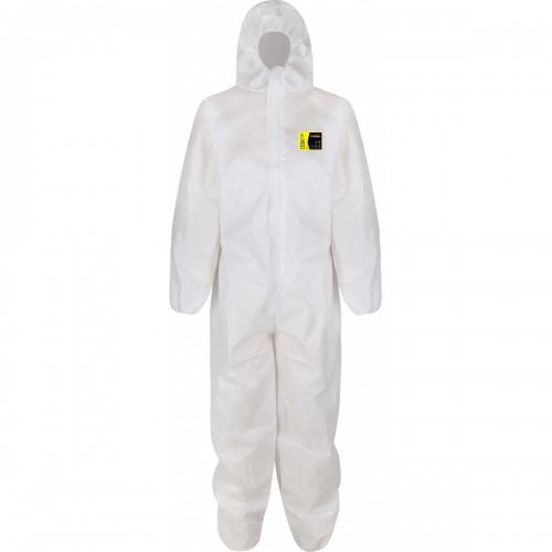 Type 5/6 base coverall, White, Size 3XL