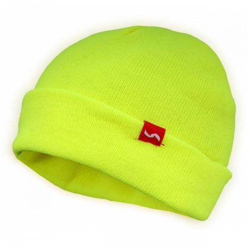 Acylic beanie hat, Yellow