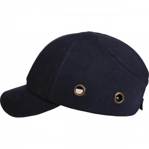 Reduced peak bump cap, Navy Blue