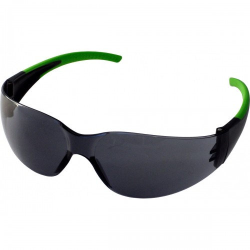 Safety glasses with smoke anti-fog lens