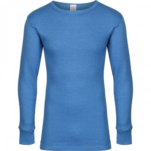 Long sleeved acrylic thermal vest, Light Blue, Size S