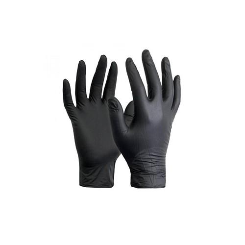 Bodyguard Black Nitrile Gloves