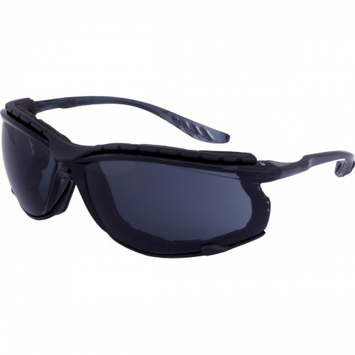 Ultra light weight safety glasses with smoke lens