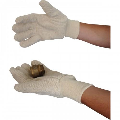 32oz heat resistant terry glove with knit wrist, Size L-XL