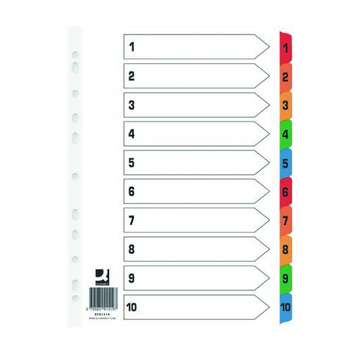 Printed File Dividers