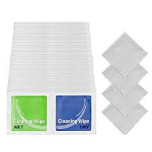 *Screen Cleaning Duo Sachets Pairs of Wet and Dry Wipes [Pack 20x2]*