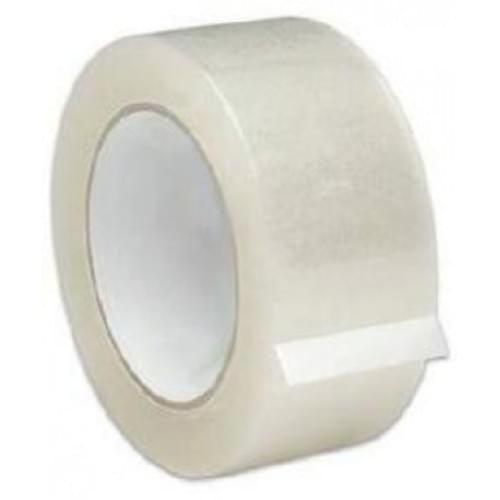 *Adhesive Office Easy Tear Clear Tape 50mm x 66m [Pack 6]*