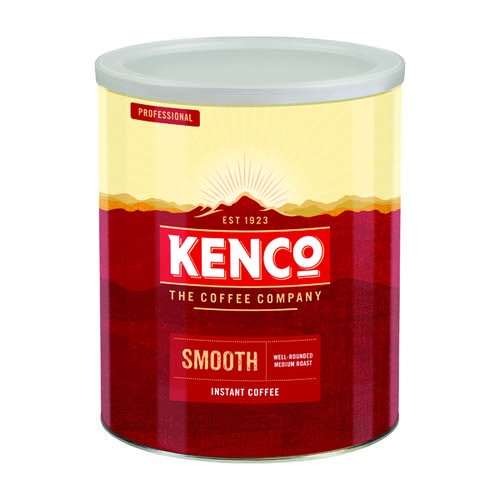 Kenco Smooth Instant Coffee 750g Tin