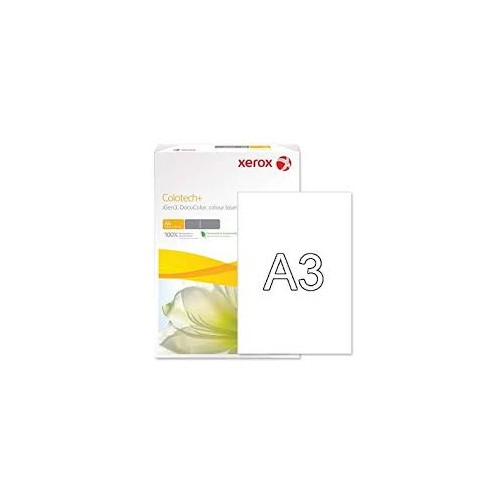 Xerox A3 Colotech Plus 100gsm White Premium Copier Paper 500 Sheets