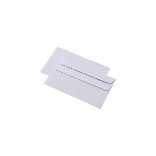 WHITE DL S/S PLAIN GLENWOVE ENV 220x110mm