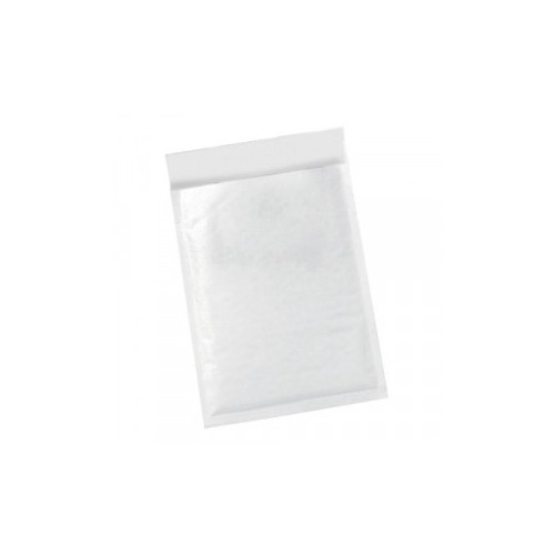 Office Bubble Lined Bags Peel & Seal No.5 260 x 345mm White [Pack 50]