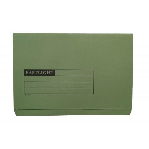 Eastlight Full Flap Folder Green