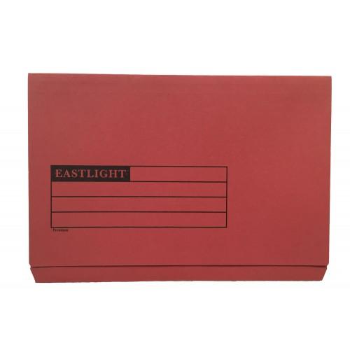 Eastlight Full Flap Folder Red