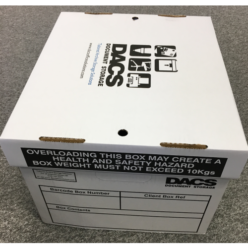 DACS Document Storage Box