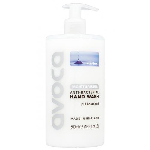 Avoca Caring Moisturising Anti-Bacterial Handwash 500ml Pk6