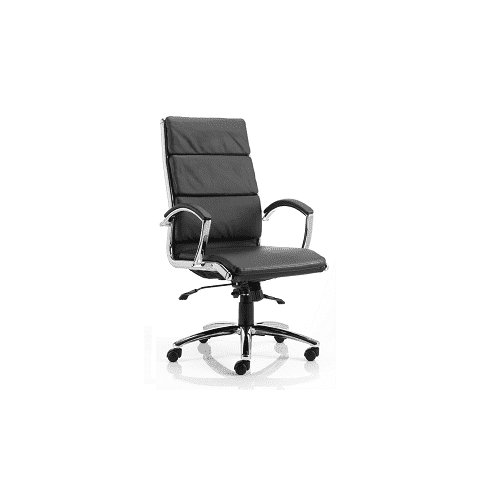 Executive Chair High Back w/ Arms Black