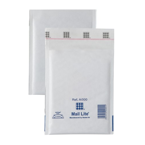 Sealed Air Mail Lite Mailers A/000 White