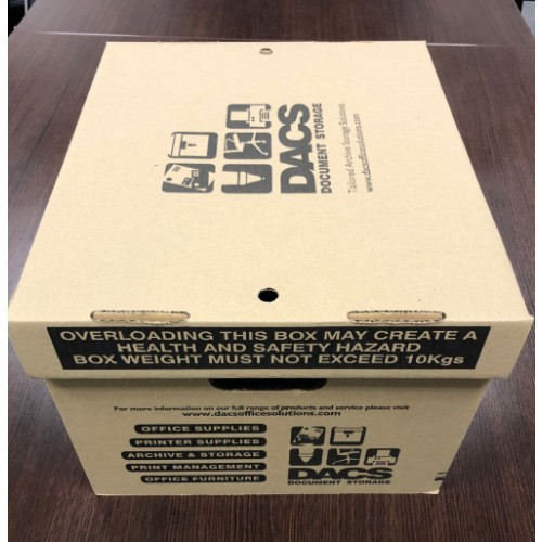 DACS Document Storage Box Recycled