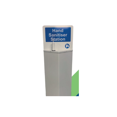 Free Standing Hand Sanitizing Station