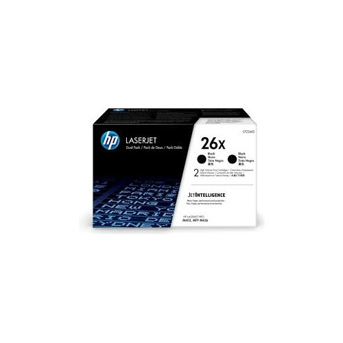 HP 26X HY Black Toner CF226X